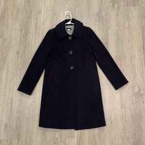 J. Crew Cashmere & Wool Overcoat